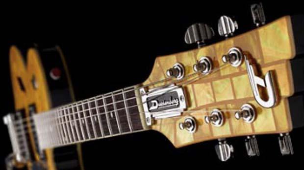 Kopfplatte Gitarre Duesenberg